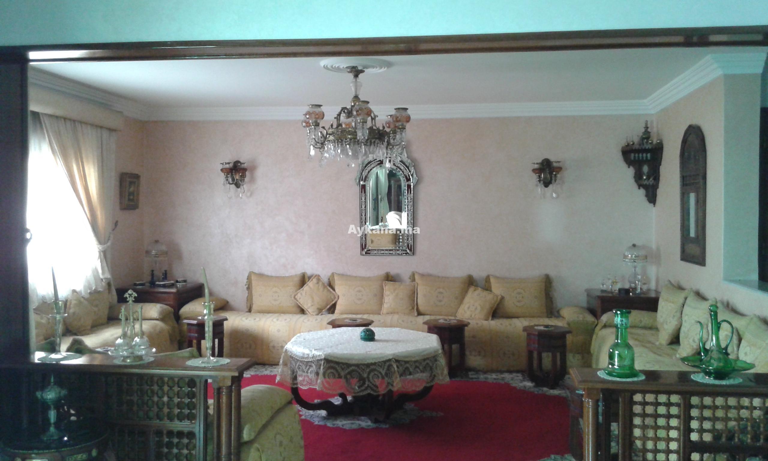 Vente appartement rabat hay riad 20578 for Mobilia hay riad rabat