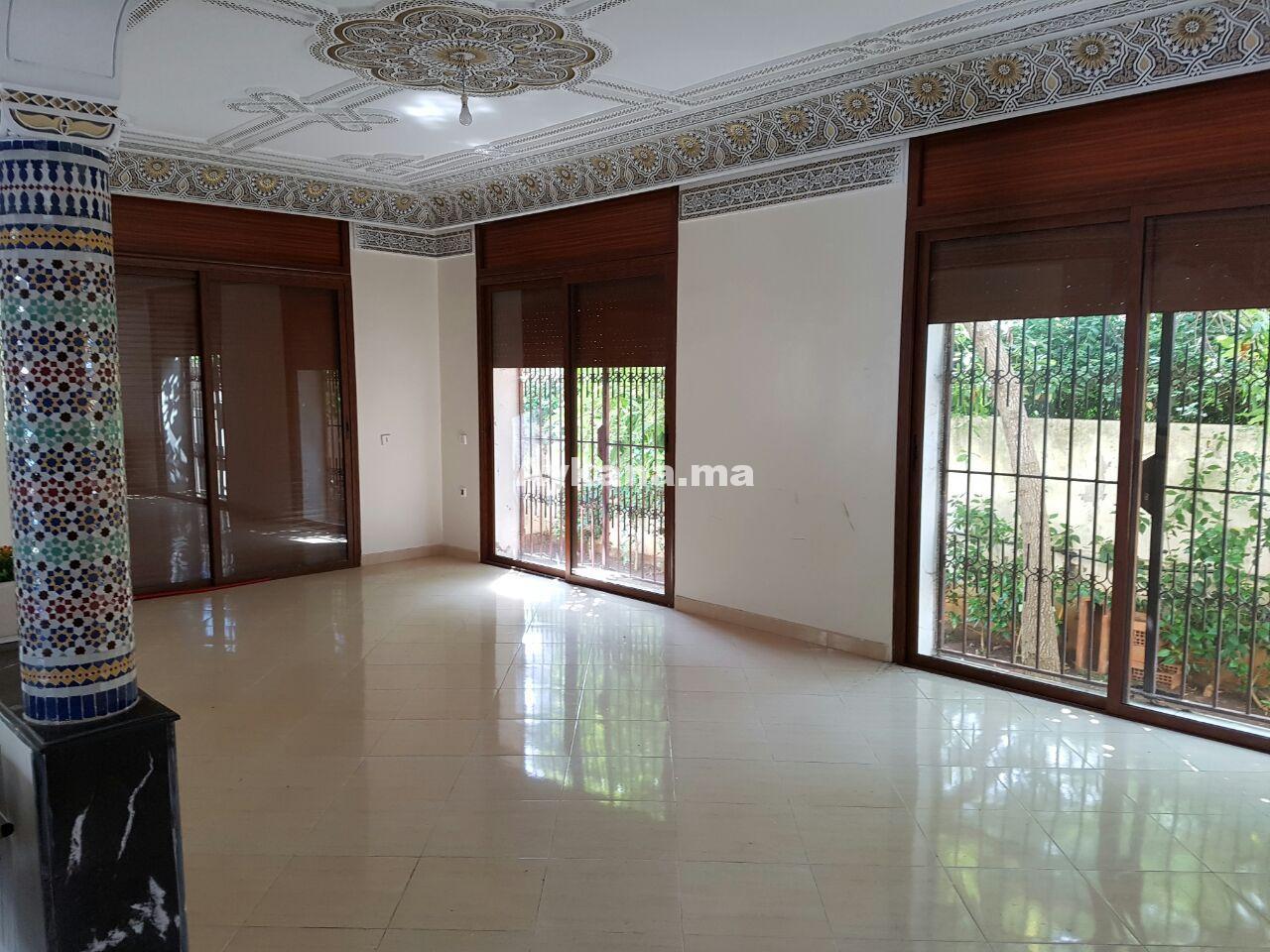 Vente villa rabat hay riad 21181 for Mobilia hay riad rabat