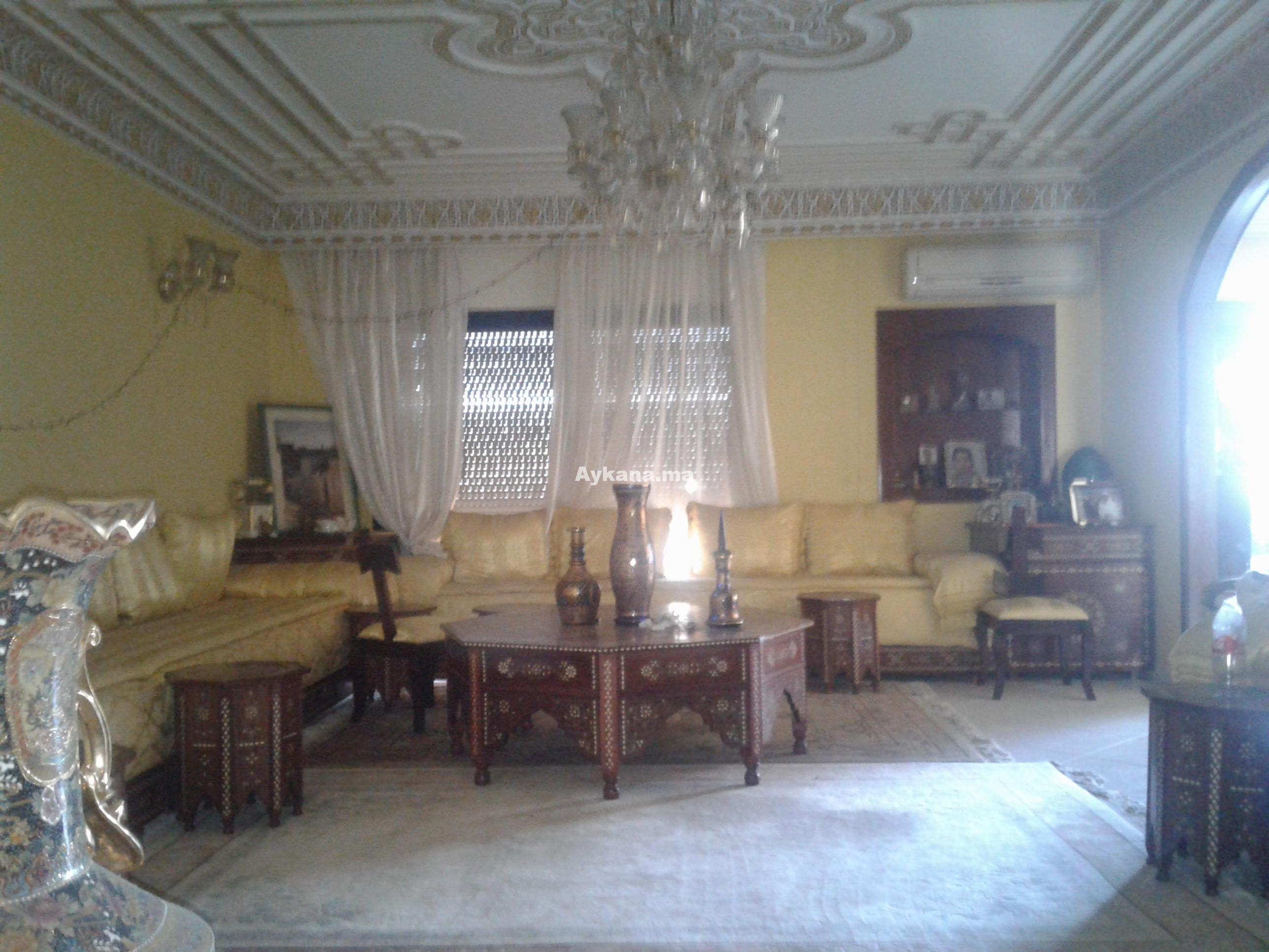 Location appartement meubl rabat hay riad ref 380 for Mobilia hay riad rabat