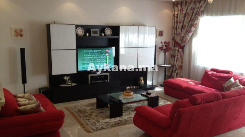 Renting Furnished Apartment Casablanca Racine REF 530 |